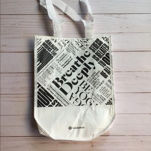 Lululemon Reusable Bag White